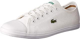 Lacoste Ziane Sneaker 318 2 Women's Fashion Shoes, WHT/WHT