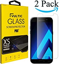 Vultic Galaxy A5 2017 Screen Protector Tempered Glass [Case Friendly] Film Cover for Samsung Galaxy A5 (2017) [2 Pack]