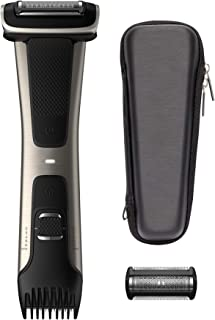 Philips Norelco Bodygroomer BG7040/42 - skin friendly, showerproof, body trimmer and shaver with case and replacement head