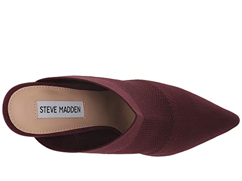 Steve Madden BlackBurgundyTaupe Mule Drastic Dress qx4OXFwx