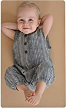Leather Baby Diaper Changing Mat - Portable, Wipeable & Reusable Pad Liner - Large Size - Premium Quality by Cairn Co.