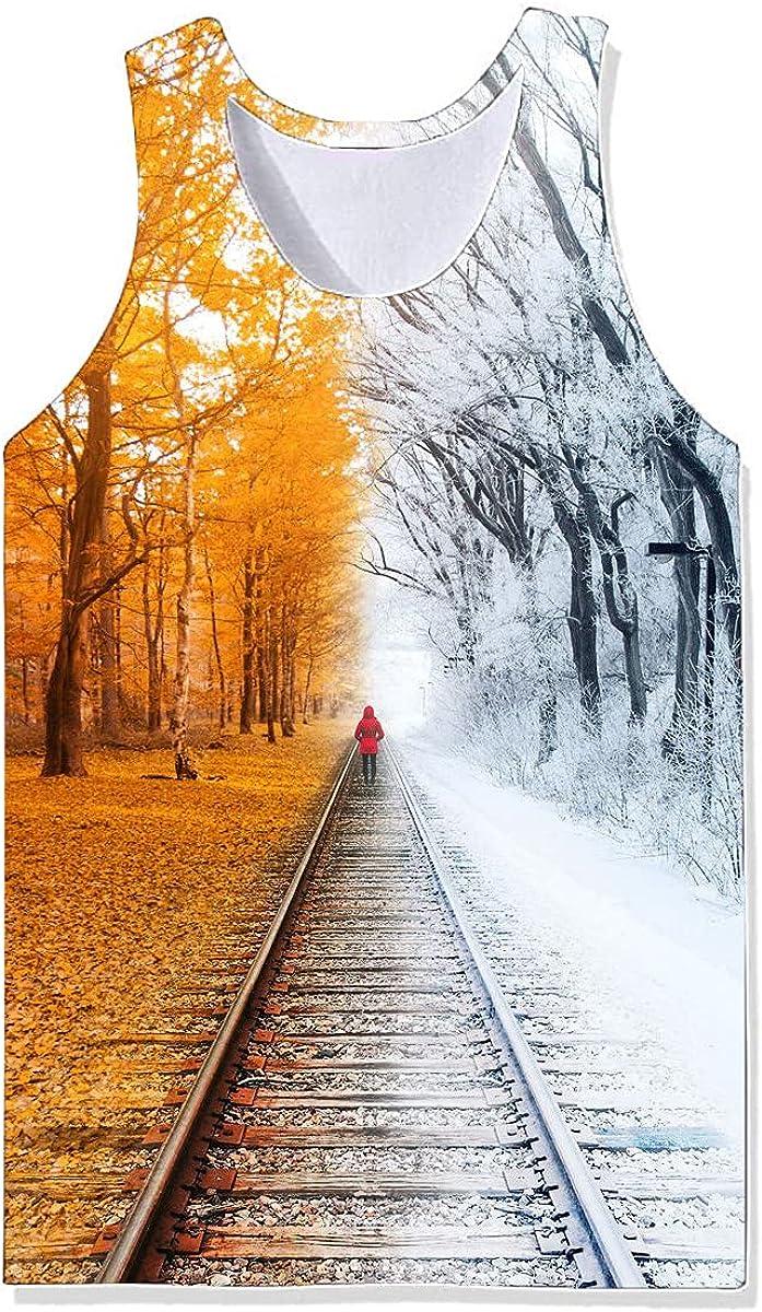 Damela Boy 3D Magical Journey Printed Pullover Vest