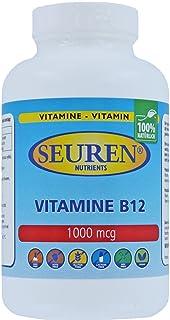 Seuren Nutrients | Vitamina B12 1000 mcg 100 tabletas | Complejo