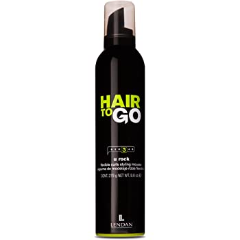 Lendan LD Hair To Go U Rock Espuma Flexible Rizos - 300 ml: Amazon.es: Belleza