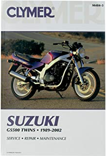 Clymer 89-02 Suzuki GS500E Service Manual