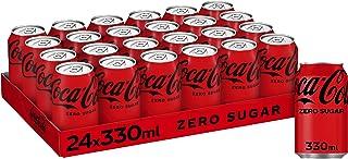 Coca Cola Coke Zero Cans - 24xcans
