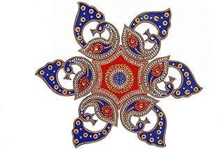 Aditri Creation Rangoli/Home Decor/Diwali Diya/Gift for Home/Interior Handcrafted/Floor Stickers/Wall Stickers/Wall Decora...