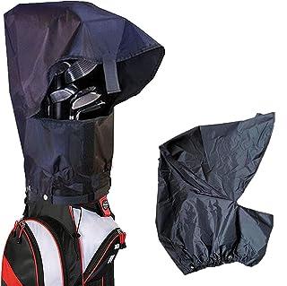 کیسه گلف Amy Sport پوشش محافظ ضد کاپوت ضد آب بسته سیاه و سفید ، کیسه های سبک وزن با دوام بارانی بارانی برای مردان زن گلف باز
