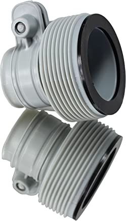 """INTEX 1.25"""" to 1.5"""" Type B Hose Adapters for Pumps & Saltwater System   Set of 2"""