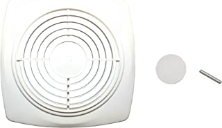 NuTone S97011919AMZ Bathroom Fan Cover, White