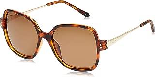 Polaroid Women's PLD 4046/S Ig R8v Sunglasses, Havana Gold, 55