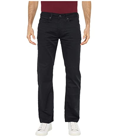 Buffalo David Bitton Six X Slim Fit Torpedo Stretch Twill in Black (Black) Men