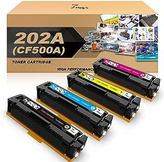 7Magic Compatible Toner Cartridges Replacement for HP 202A 202X for HP Laserjet Pro MFP M281fdw M254dw M281dw M254dn M254nw M281fdn M281cdw M280nw M281 M254 (CF500A CF501A CF502A CF503A)