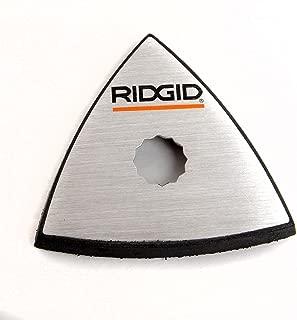 Ridgid 303590001 Detail Sanding Backing Pad for R8223404 JobMax Multi-Tool Head (Renewed)
