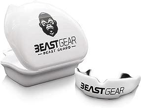 Bestia Gear Protector bucal/protector bucal–para boxeo, MMA, Rugby, Muay Thai, Hockey, Judo, Karate Artes Marciales y todos los deportes de contacto