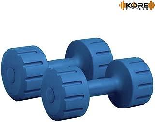 Kore DM-PVC Combo 16 (1 Kg - 5 Kg) Home Gym Dumbbells and Fitness Kit