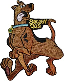 Scooby Doo Character with Name Tag Running Iron on Patch