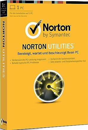 Symantec Norton Utilities 16.0 - Utilidades generales (Completo, Intel Pentium 233MHz, 64 MB, Microsoft Windows XP SP3 (32-bit), Microsoft Windows Vista (32/64-bit), Microsoft Windows 7,..., 1GHz, 2048 MB)