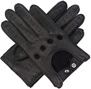 Mens Leather Driving Gloves Unlined