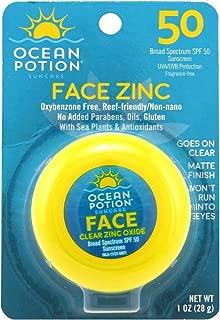 Ocean Potion SPF 50 Face Zinc Oxide Clear 1 oz (29ml)