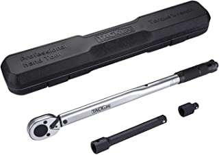 Tacklife Torque Wrench 1/2 Inch,Drive Click ( 10-150 lb-ft / 13.6-203.5nm) with 2.75-Inch Extension Bar, 3/8