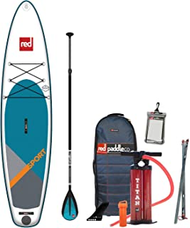 Red Paddle Co 2019 11'3 Sport Inflatable SUP with Alloy Nylon 3 Part Paddle