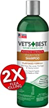 Vet's Best Flea and Tick Advanced Strength Dog Shampoo | Flea Treatment for Dogs | Flea Killer with Certified Natural Oils | 12 Ounces