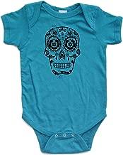 Apericots Cute Sugar Skull Sugarskull Day of Dead Dead Día de los Muertos Bodysuit