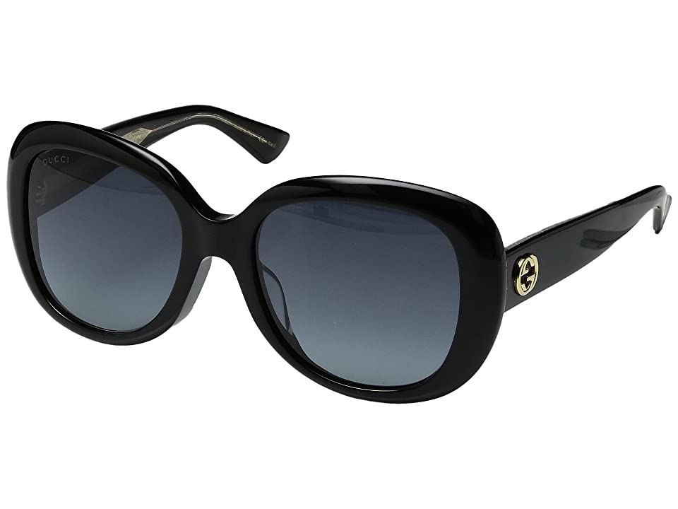 Gucci GG0140SA (Black/Grey Gradient) Fashion Sunglasses