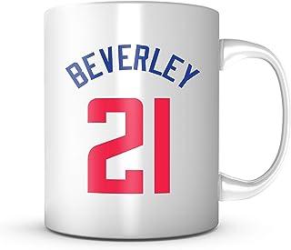 PATRICK BEVERLEY #21 Mug Los Angeles Basketball - Jersey Number Coffee Cup