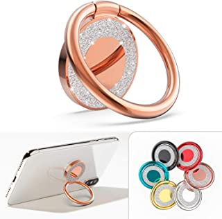 Cell Phone Ring Holder Kickstand Compatible with iPhone X XS Max XR 8 7 Plus 6 6S 5 5S, Samsung Galaxy S9 S8 Note 8 S7 Edg...