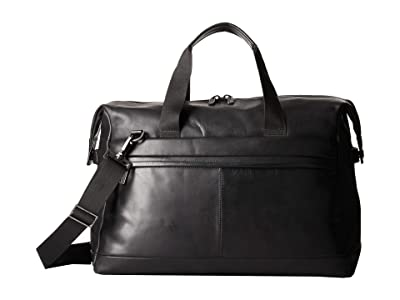 KNOMO London Barbican Milton Duffel (Black) Duffel Bags