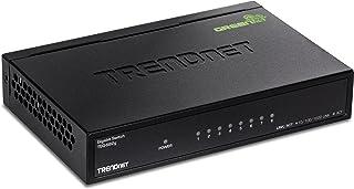 TRENDnet TEG-S82G 8-Port Gigabit GREENnet Switch, Ethernet Splitter, 10/100/1000 Mbps, ventilatorloos, 16 Gbps schakelcapa...