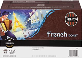 Tully's French Roast K-cups, 80-Count