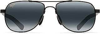 Maui Jim Sunglasses | Guardrails 327 | Aviator Frame, Polarized Lenses, with Patented PolarizedPlus2 Lens Technology
