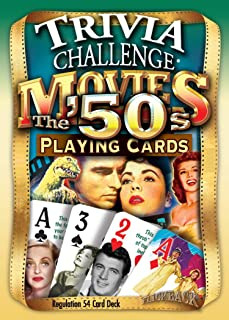 Flickback 1950's Movie Trivia Playing Cards: 60th & 65th Birthday or Anniversary