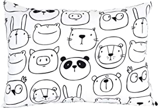 """100% Organic Toddler Pillowcase by ADDISON BELLE - Fits Both 13""""x18"""" and 14""""x19"""" Pillows - Soft, Durable & Breathable (Mon..."""