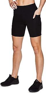 RBX Active Women's Cotton Spandex High Waist Running Bike Short