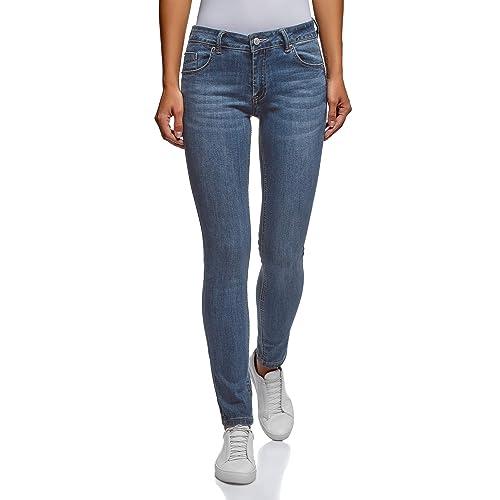 oodji Ultra Donna Jeans Skinny Push Up