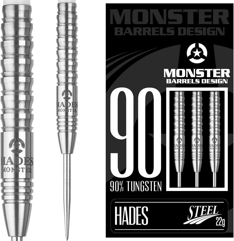 Monster Dart Barrels – 22 G Hades Hades Hades 1 – Serie 90 – Barrel Gewicht 19,6 g – mit Darts Ecke gebogen Kugelschreiber B06XXXZRHG  Schönes Aussehen 18b274