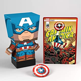 Far Out Toys - Pulp Heroes Snap Bots Marvel (Captain America)