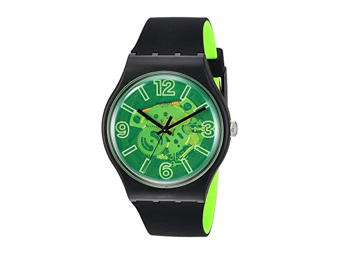 Swatch  Yellow Boost - SUOB166 (Black) Watches