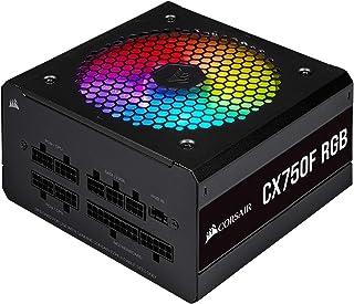 Corsair CX-F RGB Series CX750F RGB 80 PLUS Bronze Fully Modular ATX Power Supply - Black