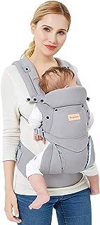 Babydragers Ergonomische Draagzak Baby Zuiver katoen Lichtgewicht en Ademend Verstelbaar Voor Baby's en Kinderen van van ...