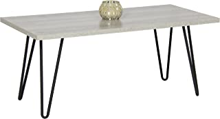 Best Choice Products Coffee Table W/Metal Hairpin Legs