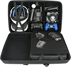 Hard Travel Case for Sony PlayStation 4 Pro Console + PlayStation VR PSVR Launch Bundle by co2CREA