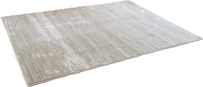 スミノエ(Suminoe) オーダーラグ ベージュ 幅175cm ×長さ55cm なめらかナイロン 防音 防炎