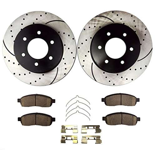 Brakes And Rotors 2006 Ford F150 Amazoncom