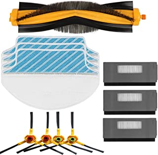 Electropan Replacement Ecovacs Accessory Kit for DEEBOT M80 M80 Pro Robotic Vacuum Cleaner Brush Filter Mop