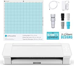 Silhouette America Cameo-4-White Color Laser Printer, 25.2 x 10.9 oz 9.2, White Edition (Renewed)